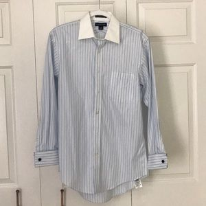Dress Shirt with Cuff Links